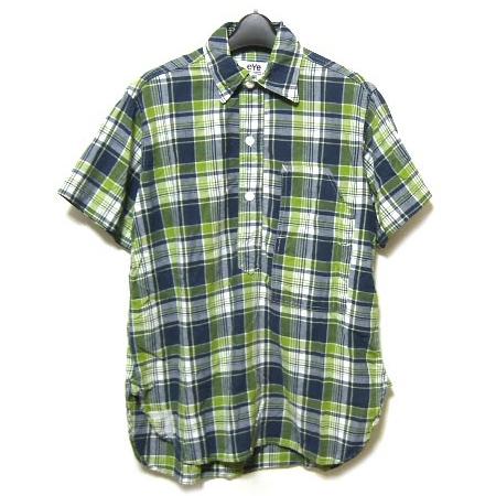 eye JUNYA WATANABE COMME des GARÇONS MAN × POST check pullover shirt