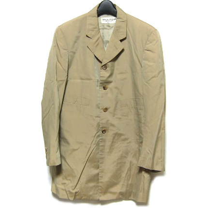COMME des GARCONS robe de chamble  work long jacket court
