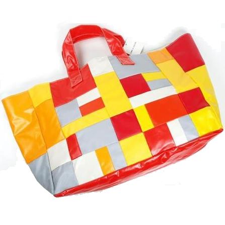 COMME des GARCONS patchwork tote bag