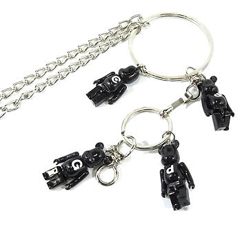 COMME des GARCONS BE@RBRICK key chains accessories