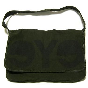 eye JUNYA WATANABE COMME des GARCONS MAN logo messenger bag