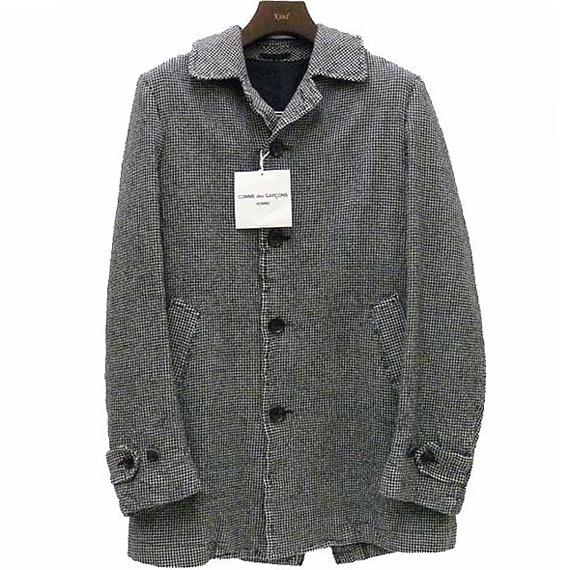 COMME des GARCONS HOMME 2010AW sten color coat