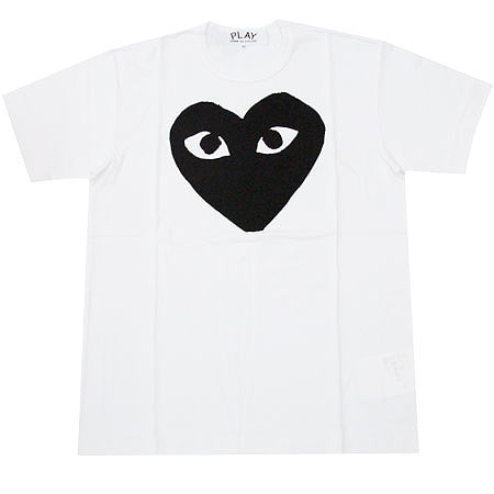 PLAY COMME des GARCONS black heart T-shirts