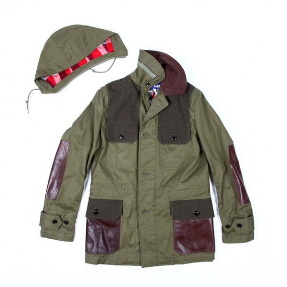 JUNYA WATANABE COMME des GARCONS MAN Hooded Field Coat
