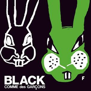 BLACK COMME des GARCONS withFILIP PAGOWSKI